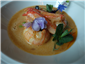 langoustine in shellfish broth