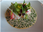 langoustine with herb nage