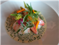 langoustines with nage