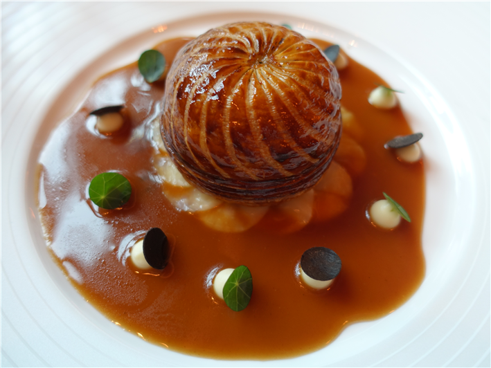 sweetbread pithivier