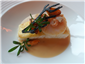 turbot and scallop