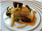 turbot with morels and white asparagus