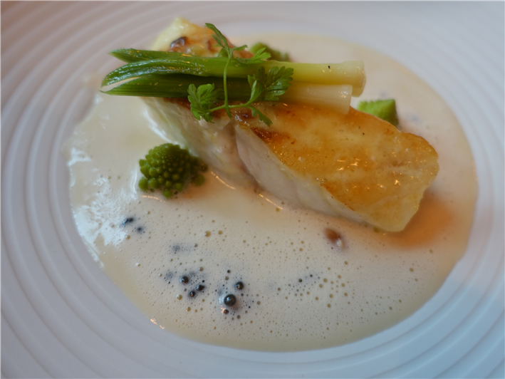 turbot with leeks