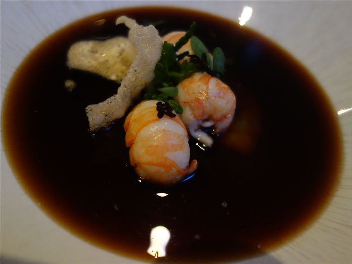 langoustine consomme