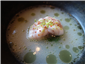 monkfish in coconut broth