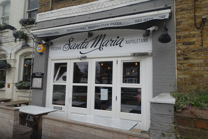 Review Of London Pizza Restaurant Santa Maria By Andy Hayler