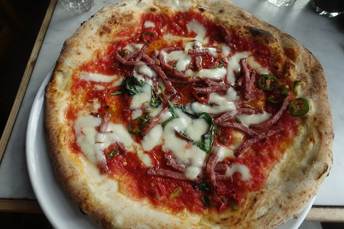 Santa Caterina pizza