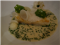 turbot with dashi beurre blanc