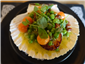 scallops with peas