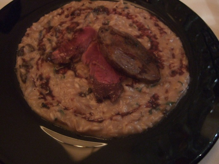 grouse risotto