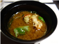 miso soup with lobster