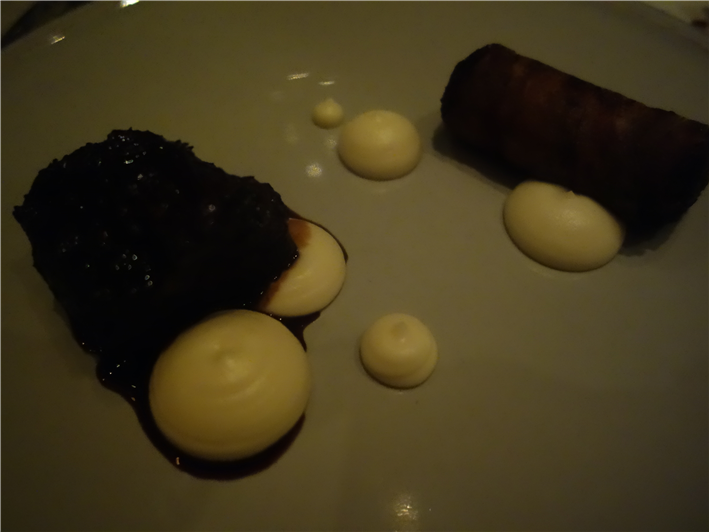 beef cheek and black pudding