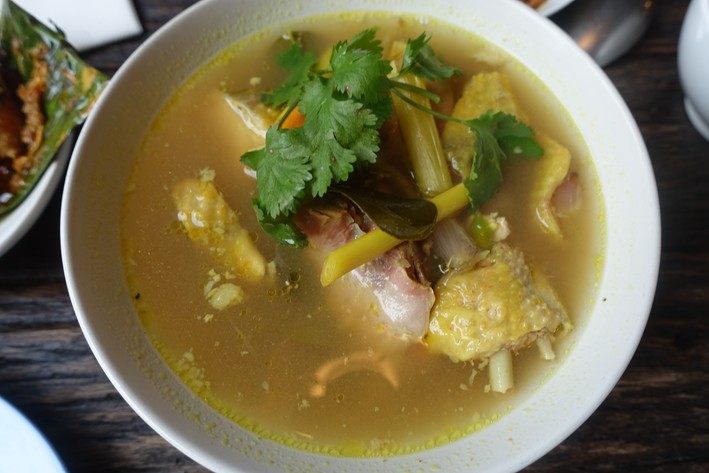 guinea fowl soup curry