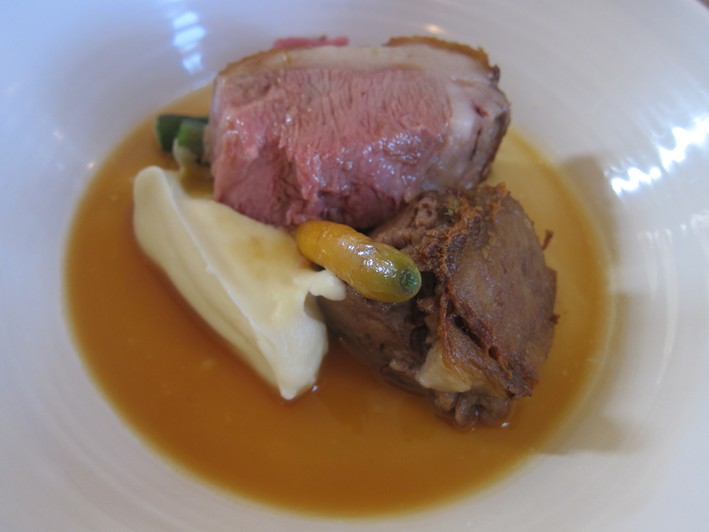 lamb with celeriac