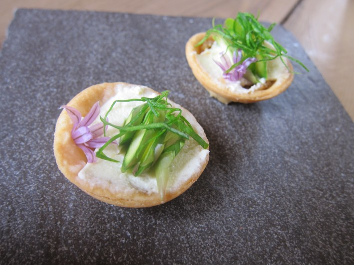 little herb tarts