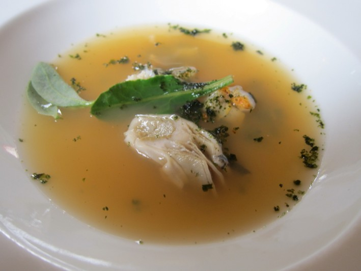 shellfish broth