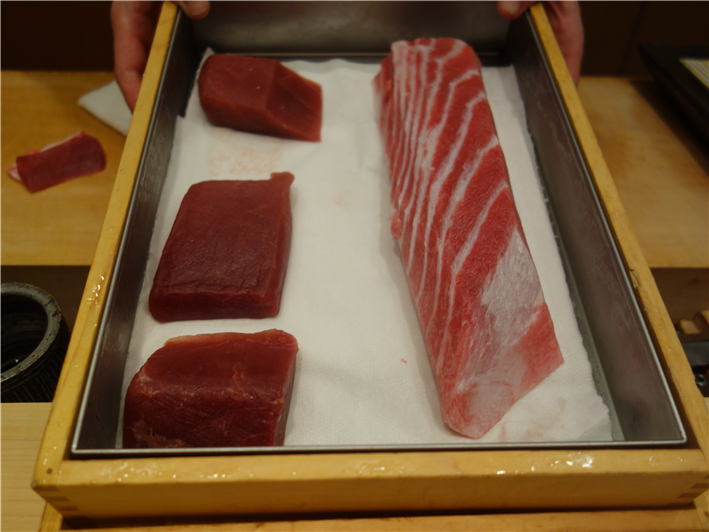 tuna in its box