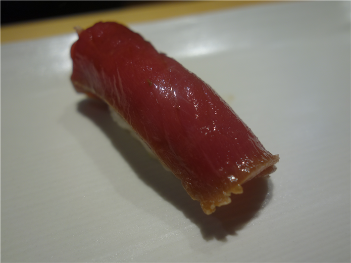 marinated tuna sushi