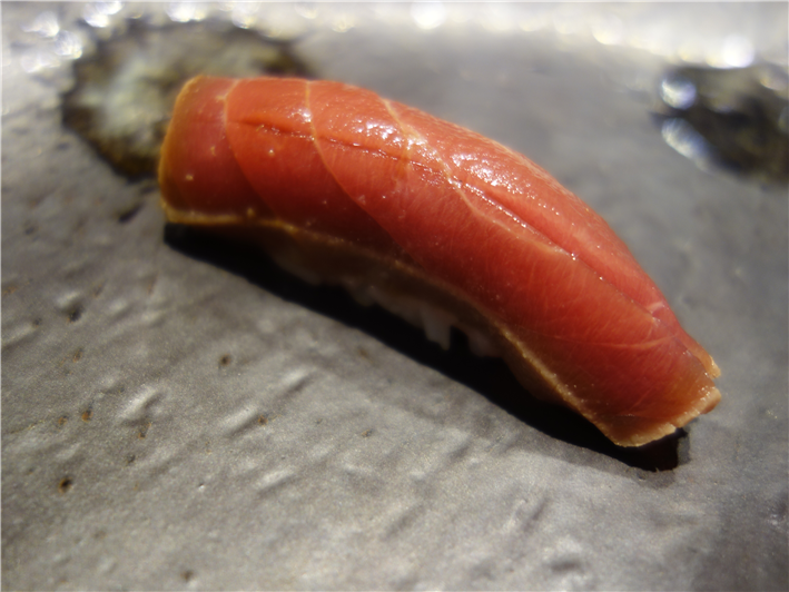 sushi of marinated tuna