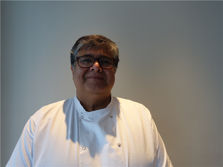 executive chef Karunesh Khanna