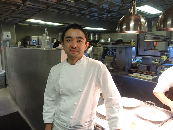 head chef Yu Sugimoto (who left in 2017)