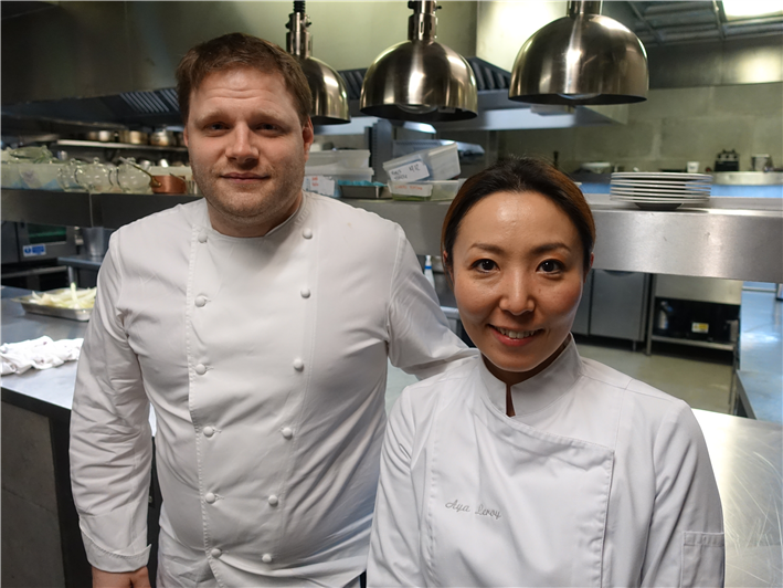 man and wife chef team