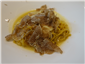 linguine with white truffles