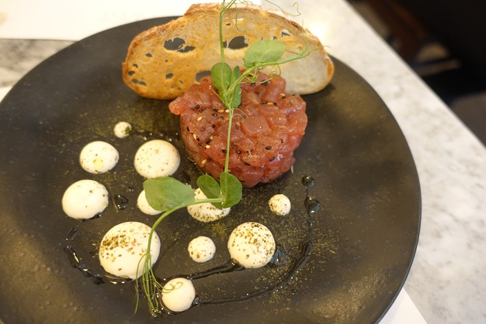 tartare of tuna