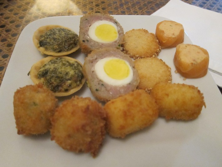 scotch egg etc