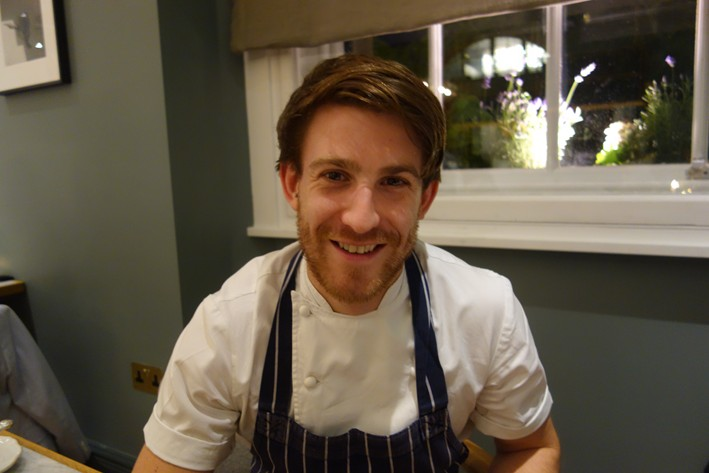 head chef Lee Westcott (2014)