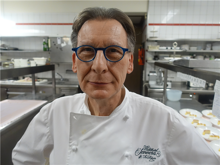 head chef Helmut Thieltges in 2017