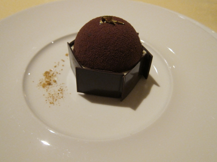 chicory mousse