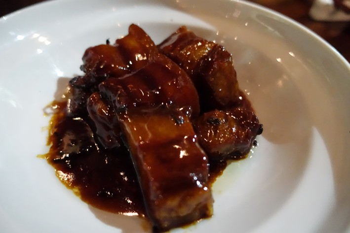 pork belly in soy sauce
