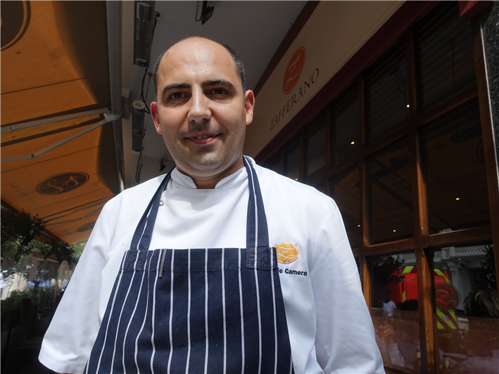 head chef since September 2014: Daniele Camera