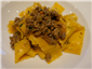 papardelle with lamb ragu