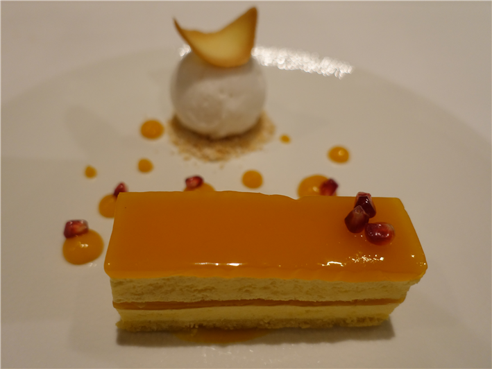 passion fruit dessert