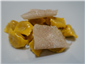 ravioli of osso buco garnished with white truffle