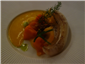 monkfish with orange sauce
